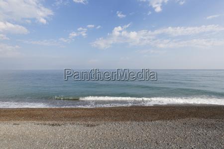 turkey black sea beach in cide