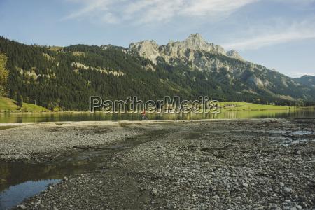 austria tyrol tannheimer tal mountainscape with