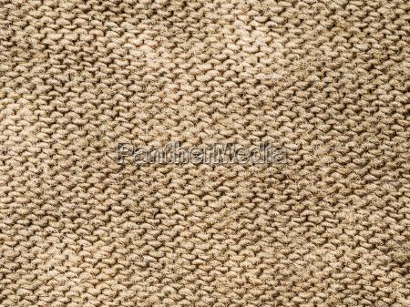 textile background brown cotton cloth