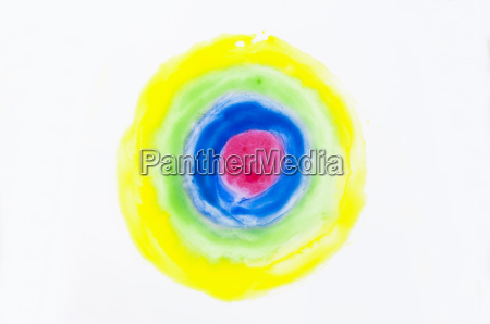 circles on a white background