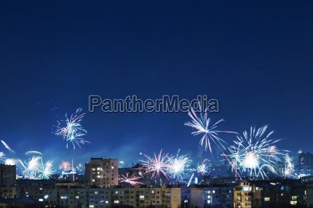 bulgaria sofia new years eve fireworks