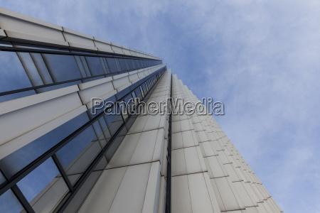 germany saxony chemnitz high rise building