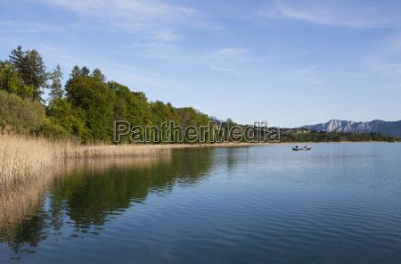 austria salzkammergut lake irrsee