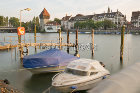 germany baden wuerttemberg constance harbor at