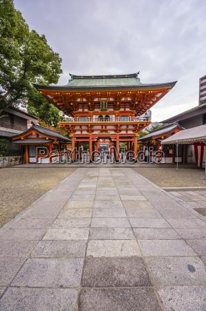 japan kobe building in chinatown