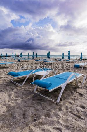 usa florida miami lonesome beach with