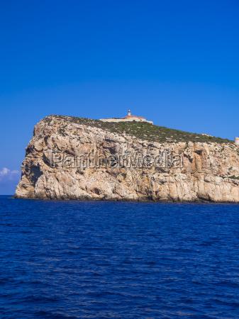spain mallorca cliff coast at sant