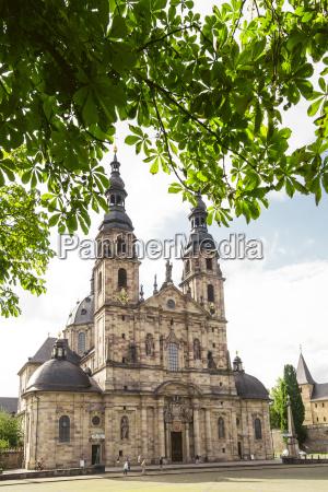 germany hesse fulda fulda cathedral