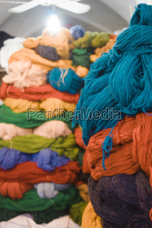 iran shiraz stack of carpet wool
