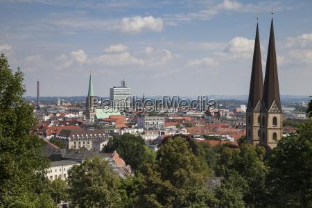 germany north rhine westphalia bielefeld city