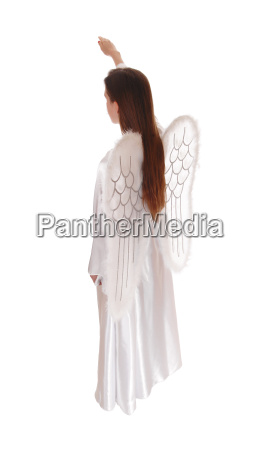 angel standing in profile 14