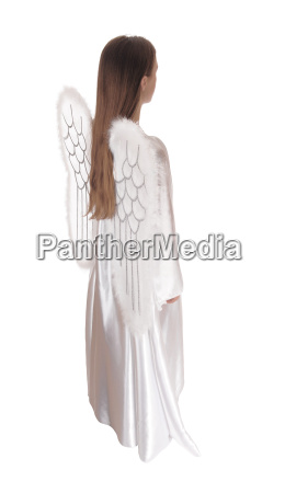 angel standing in profile 16