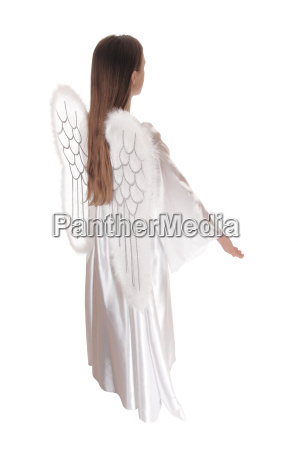 angel standing in profile 17