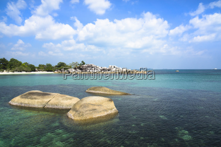 indonesia belitung tanjung tinggi granitic rocks