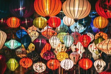 vietnam silk lanterns