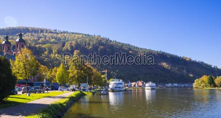 germany bavaria miltenberg excursion boats on