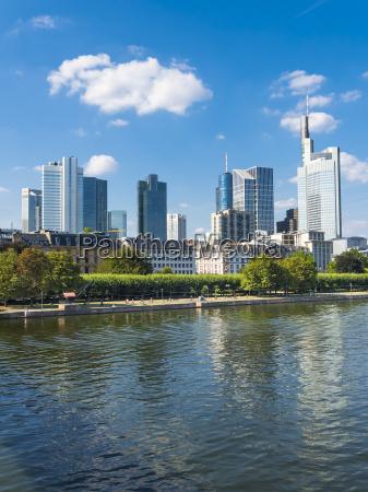 germany hesse frankfurt financial district main