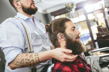man with full beard at the