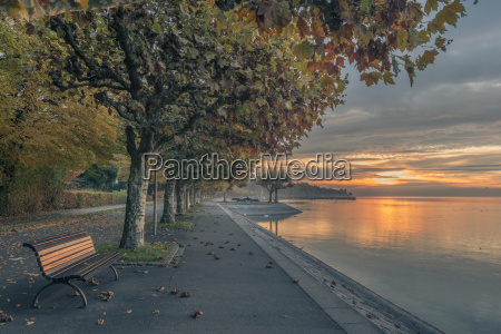 germany constance bench at lake constance