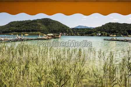 austria carinthia lake klopein