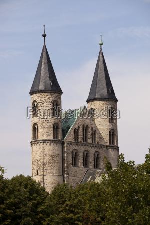 germany magdeburg unser lieben frauen monastery