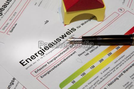 energy performance certificate pen