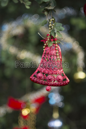 christmas decoration red bell