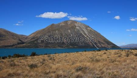 mountain of the ben ohau range
