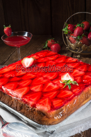 cake pie cakes strawberry poland sweetness