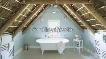 luxury attic bathroom