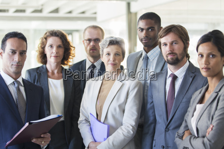 group, portrait, of, successful, office, team - 17169530