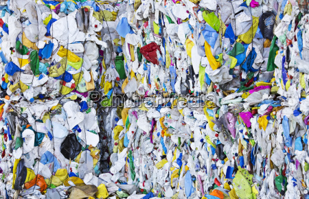 compressed recycling bundles