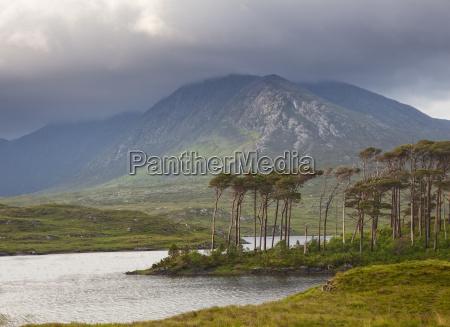 green cliffs connemara ireland
