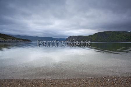 scenic view of calm bay