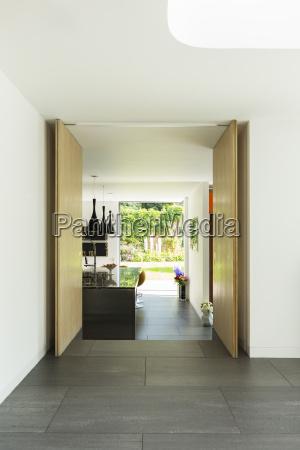 doorway in modern house