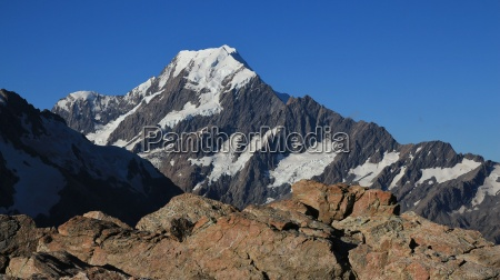 view of mount cook from the