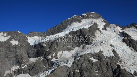glacier and mt brunner