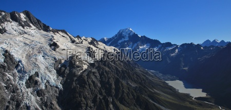 morning in the southern alps mt