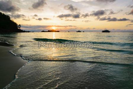sunrise at mu koh similan thailand