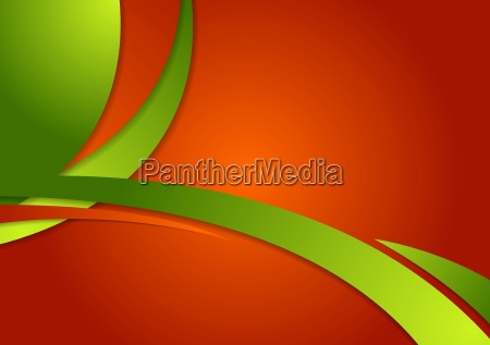 abstract bright contrast wavy corporate background