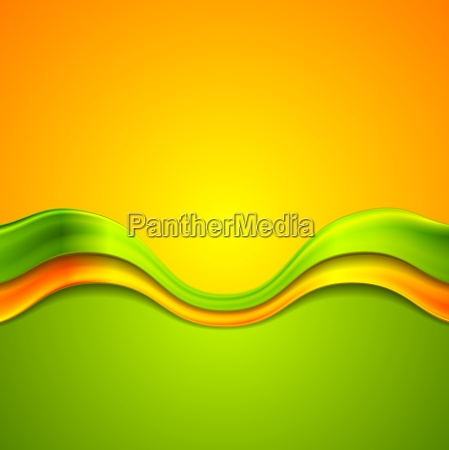 colorful abstract background with waves