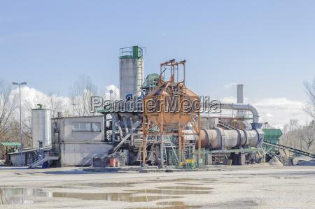 industrie werk fabrik fertigungsanlage