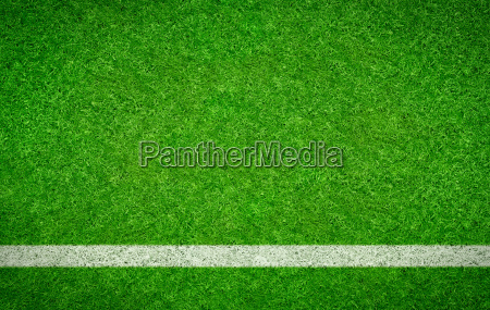 football pitch with horizontal line