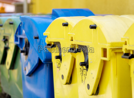 recycling container waste sorting