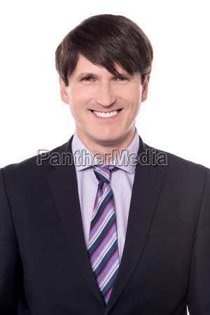 handsome businessman portrait