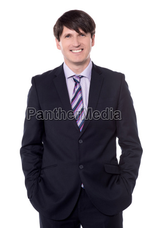professional and successful businessman