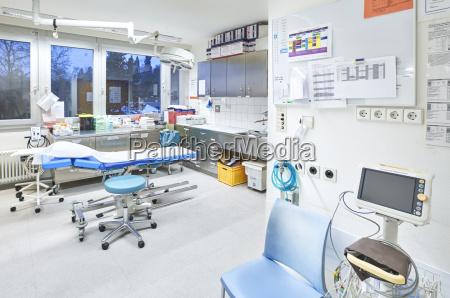 hospital room station ecg