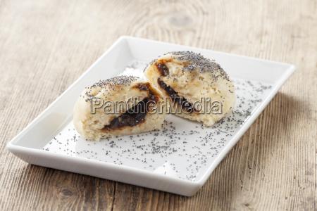 austrian germ dumplings with jam