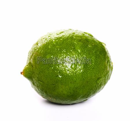 lemon on the table