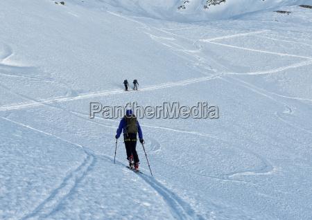 italy gran paradiso ski tour